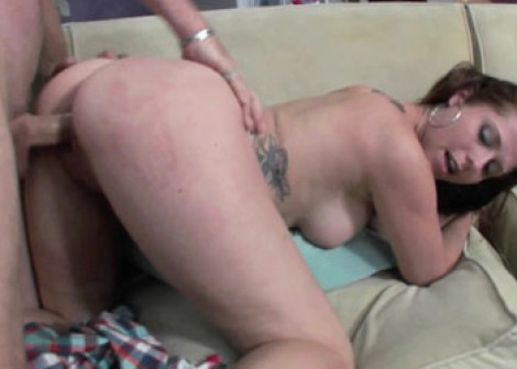 Innocent coed Autumn is getting laid
